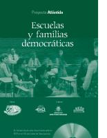 Escuelas y Familias Democráticas