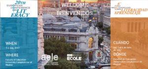Cartel Conferencia AELE
