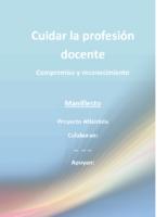 ANEXO II A Campaña Cuidar la profesión docente, Atlántida y sindicatos